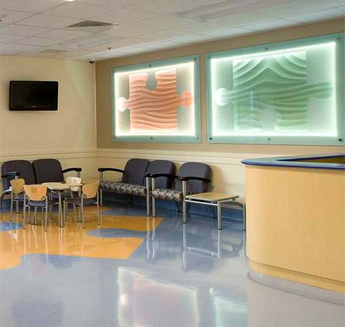 Healthcare: Custom Armourcoat Sculptural artwork