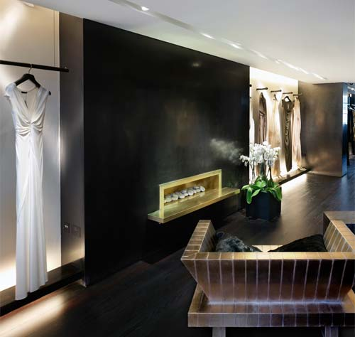 HPS: Polished Plaster HPS/SMG - Donna Karan, London