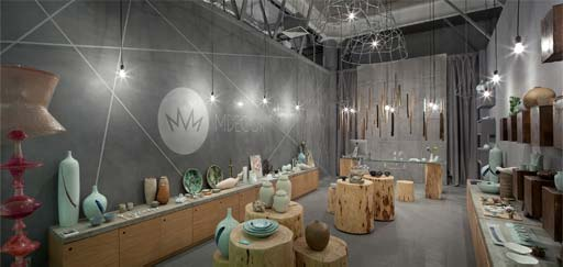 Koncrete: Koncrete- MDecor Showroom, Ukraine