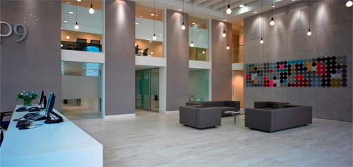 Commercial: ArmourCast panels at DP9, London