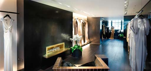 Retail: Custom Polished Plaster at Donna Karan, London