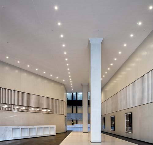 Acoustic Plaster: Minster Building, London. Image © Jonathan Banks