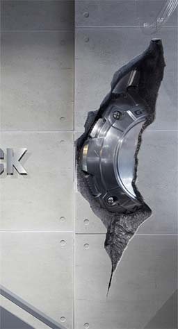 ArmourFX Concrete Effect Panels: G Shock, London - Double Retail Max McClure