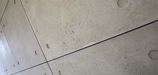 ArmourFX Concrete Effect Panels: Close up, Tower House, Bristol