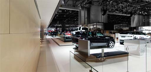 Hand applied panels: Landrover Jaguar, Geneva