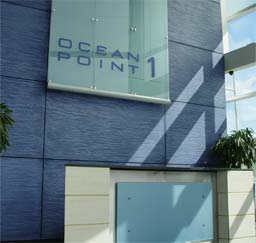 Hand applied panels: Ocean Point 1, Edinburgh with Dragged polished plaster finish