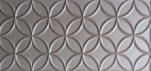 Stone effect panels: Stone Effect Design: Circles