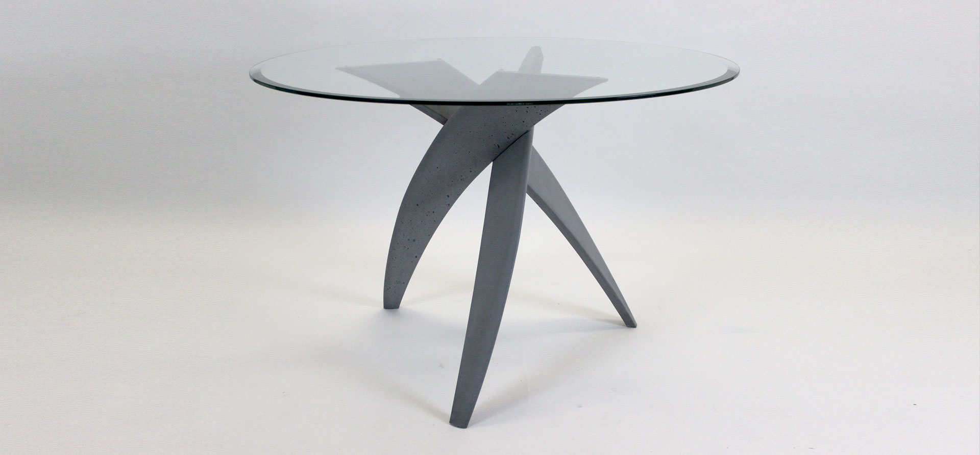 Commissions: Ductal Trifoil table, from £1299