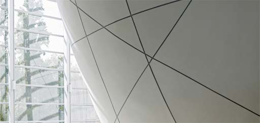 Armuralia: Armuralia Polished Plaster - The Cocoon at the Natural History Museum, London
