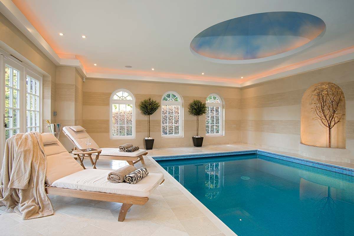Banding armourcoat for Indoor swimming pool ceiling materials