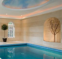 Banding: Polished Plaster Banding - Swimming Pool