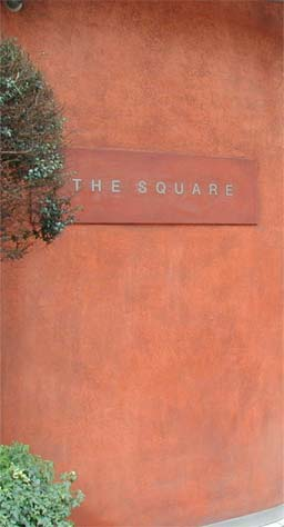 Colourwash: Polished Plaster Pitted with Colourwash at The Square Restaurant, London