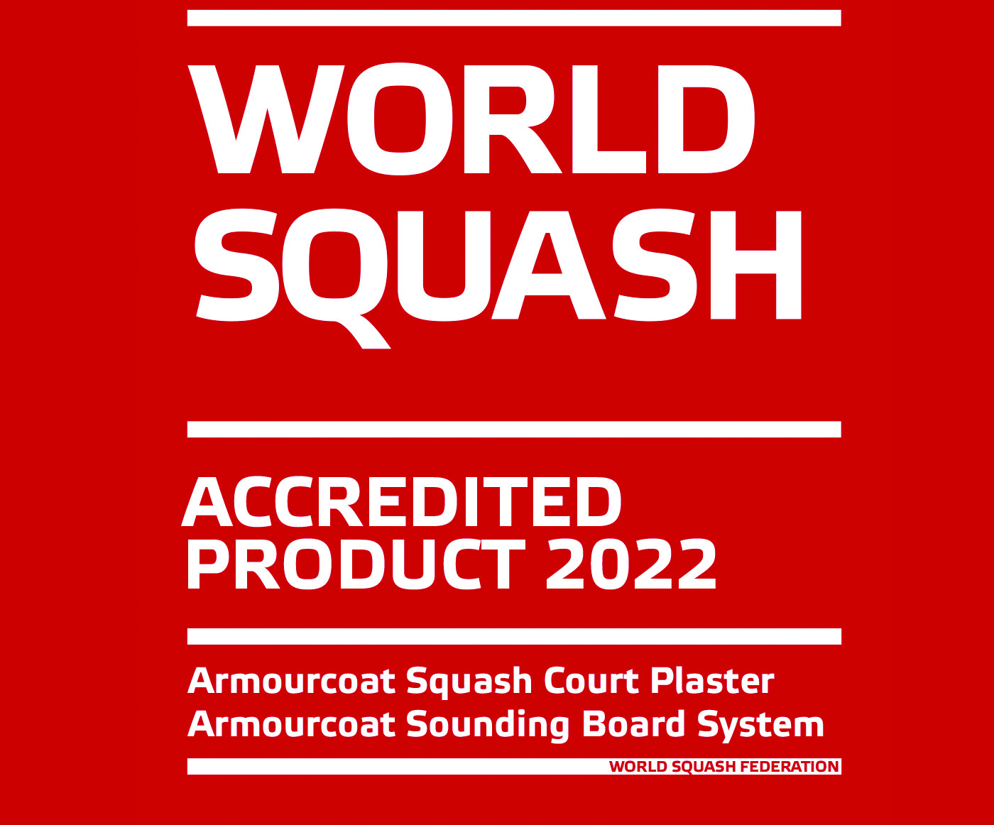 World Squash Federation Logo