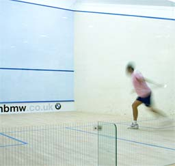 Racket Sports: Approved by the World Squash Federation (WSF)