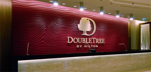 "Sculptural: Armourcoat Sculptural: ""Flow Wave"" DoubleTree by Hilton Hotel, Bratislava"